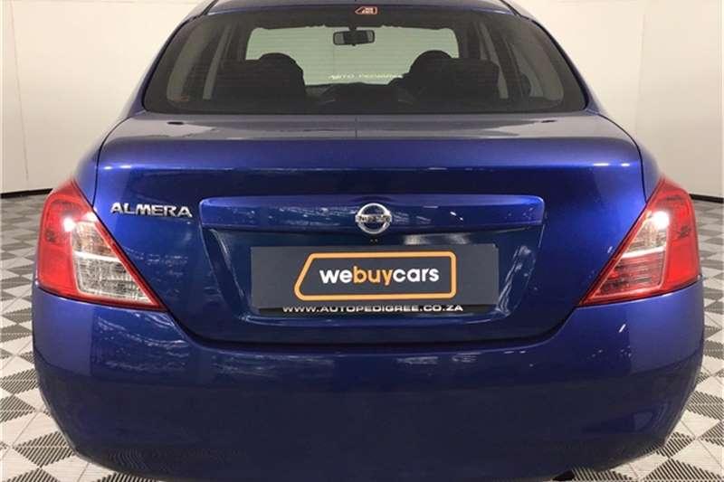 Used 2013 Nissan Almera 1.5 Acenta auto