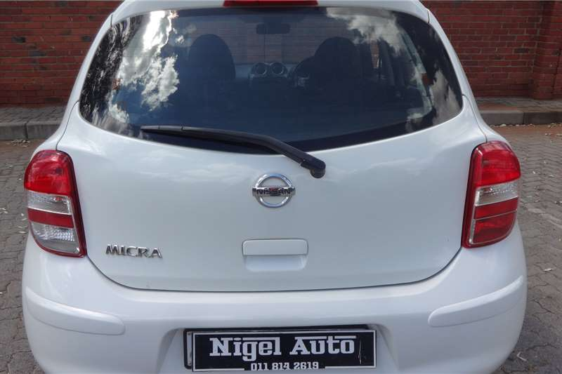 Nissan Micra 1.2 Visia 2012