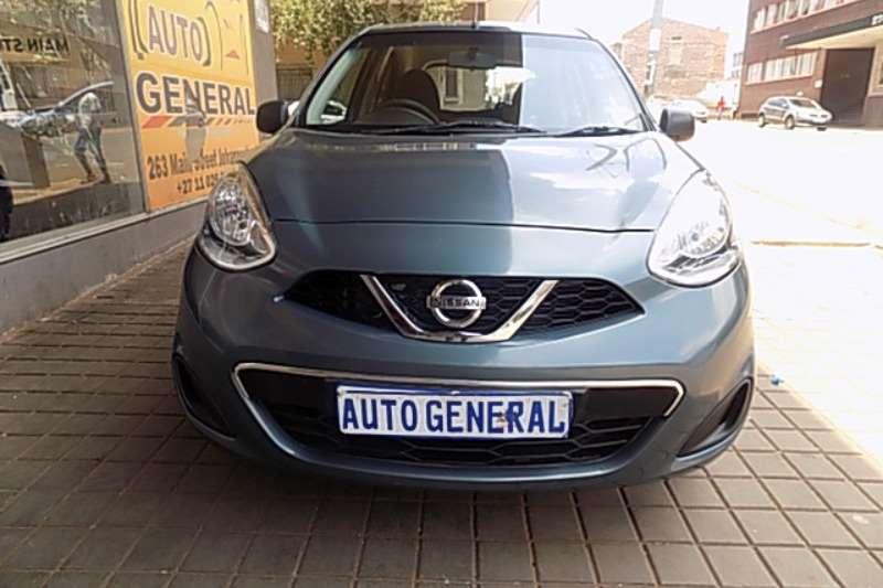 Nissan Micra 1.4 5 door Acenta+ 2017
