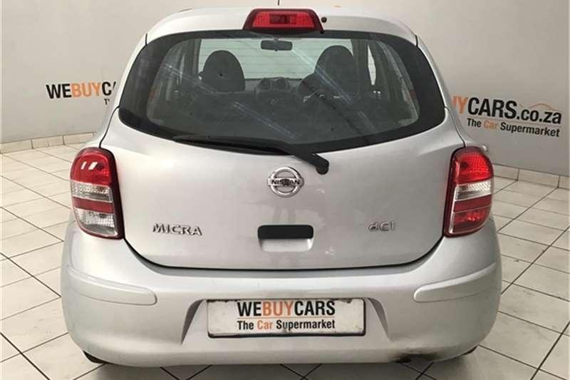 Nissan Micra 1.5dCi Acenta 2011