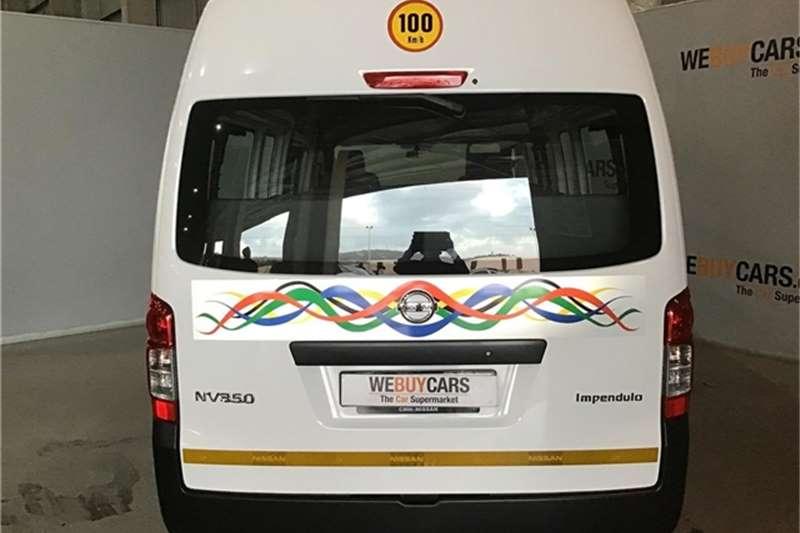 2018 Nissan NV350 Impendulo 2.5i