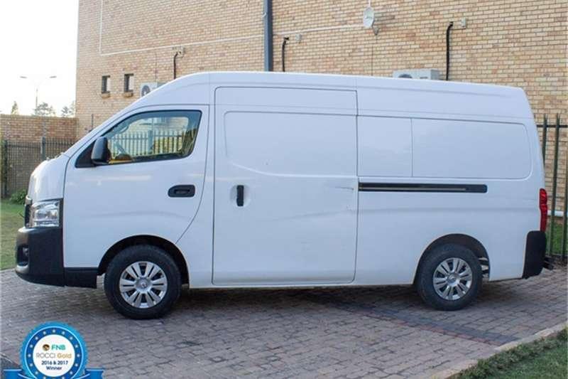 Nissan NV350 panel van wide-body 2.5dCi 2013
