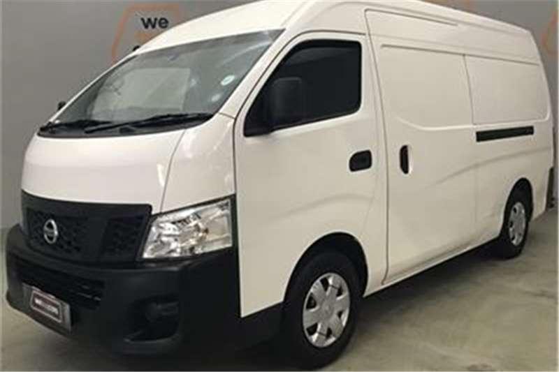 Nissan NV350 panel van wide-body 2.5i 2013