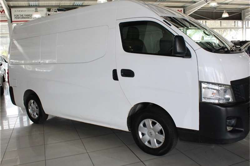 Nissan NV350 panel van wide body 2.5i 2014