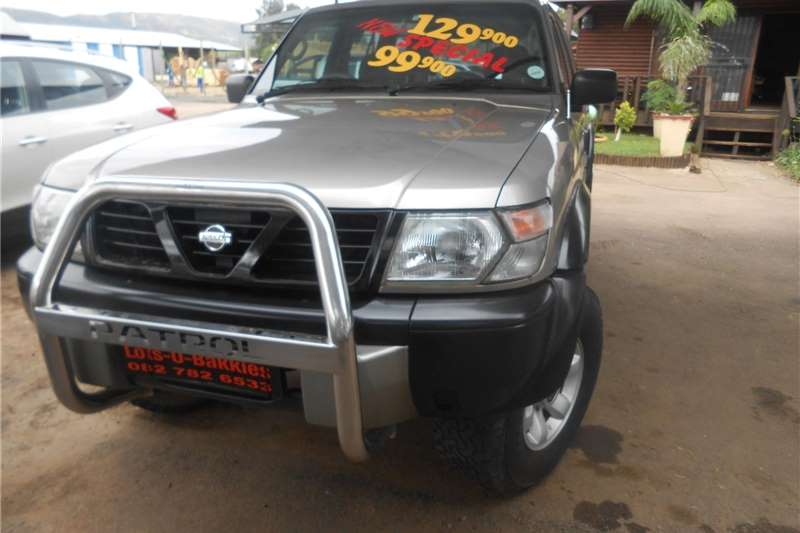 Nissan Patrol 4.2D pick up 1998