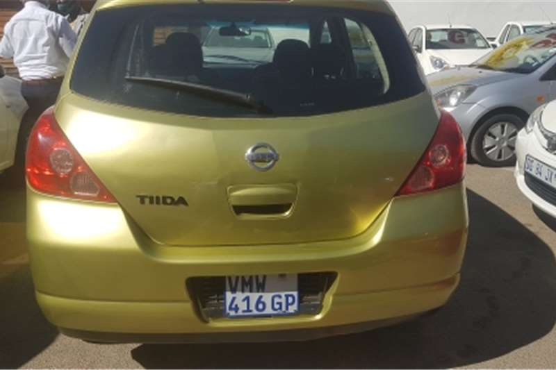 Used 2008 Nissan Tiida hatch 1.6 Acenta