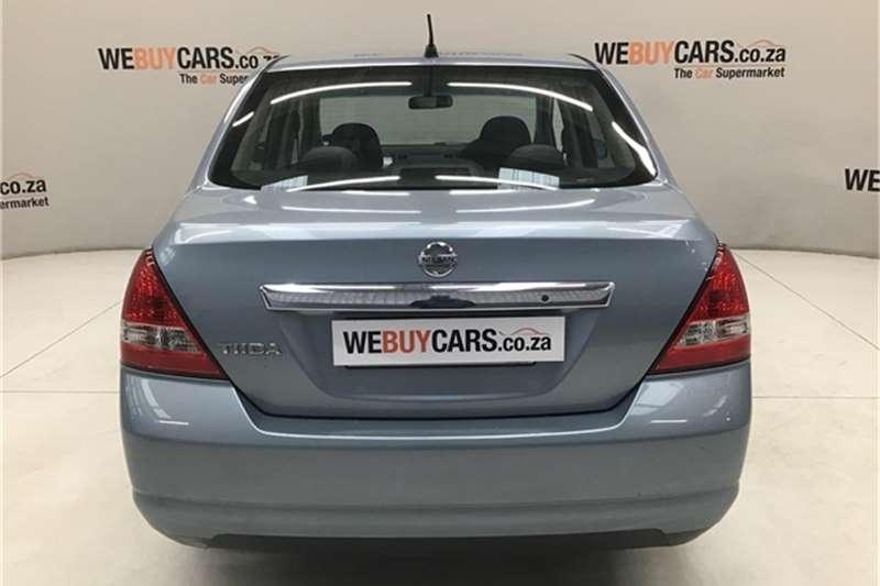 2006 Nissan Tiida sedan 1.6 Visia+ auto
