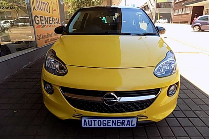 Opel Adam 3-door ADAM 1.0T GLAM/SLAM (3DR) 2017