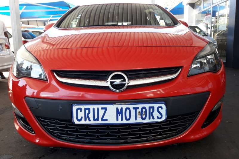 Opel Astra Hatch ASTRA 1.6 ESSENTIA (5DR) 2013