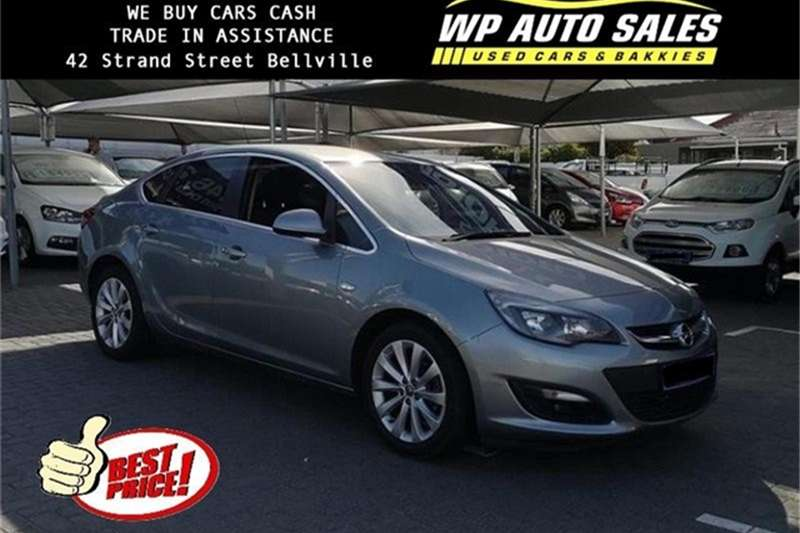 2015 Opel Astra sedan 1.4 Turbo Enjoy auto