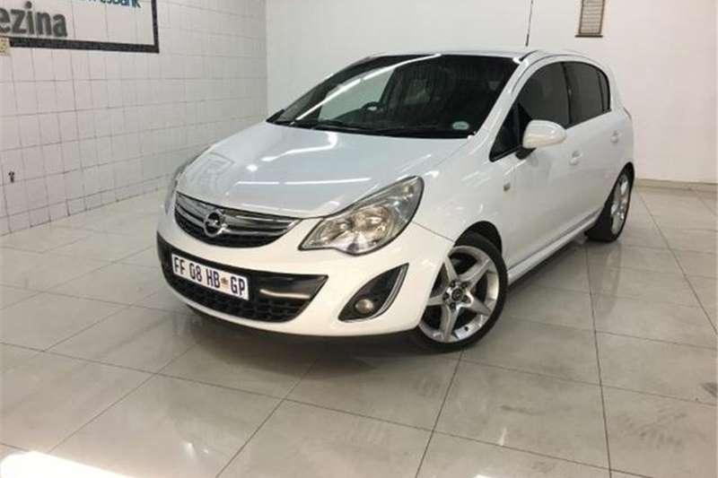 Opel Corsa 1.6 Turbo Sport 2012