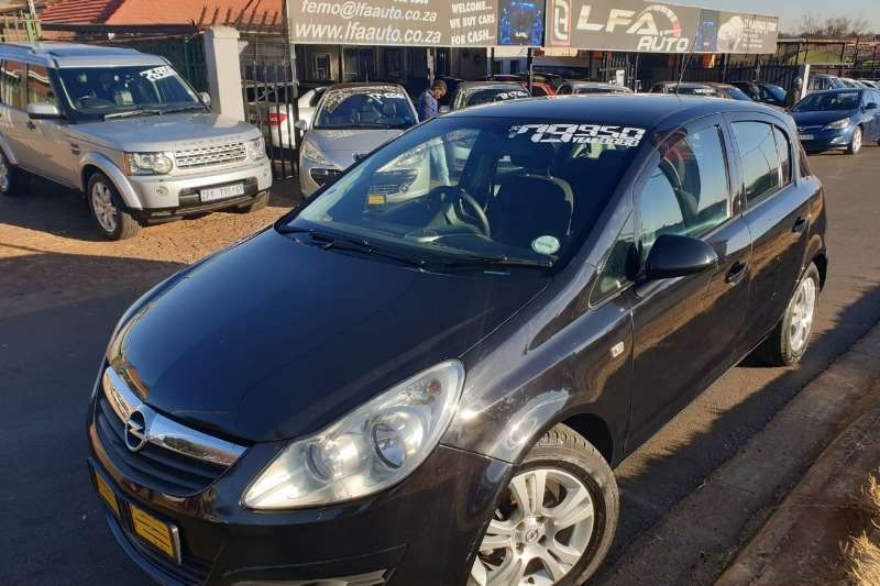 2008 Opel Corsa hatch 5-door