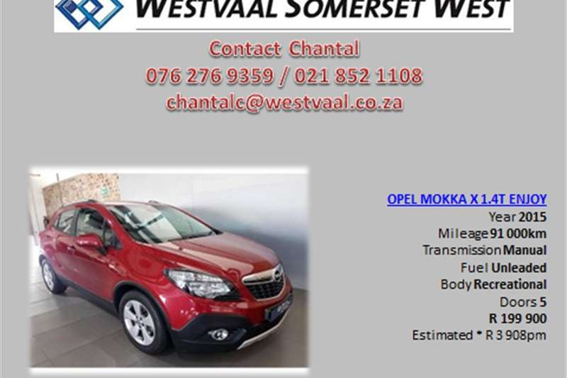 Opel Mokka X 1.4 Turbo Enjoy 2015
