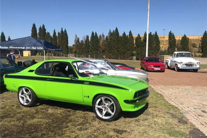 Opel Rekord Its a manta 1971