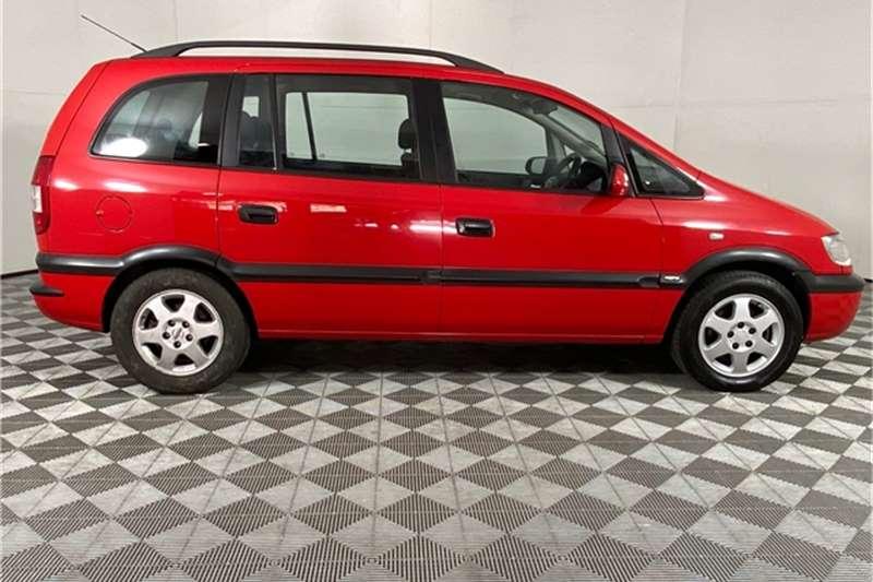 2005 Opel Zafira Zafira 2.2 Elegance automatic