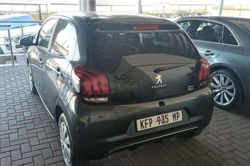 Used 2021 Peugeot 108