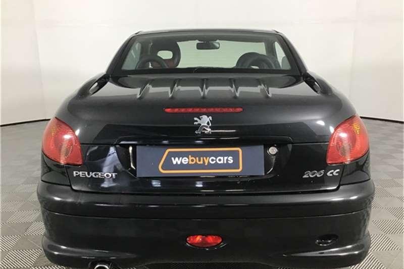 Used 2004 Peugeot 206 CC 1.6