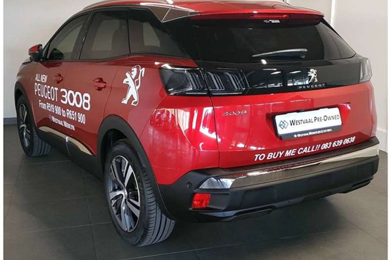 Used 2021 Peugeot 3008 1.6T ALLURE A/T