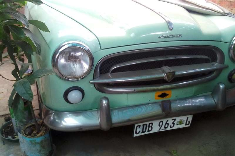 Peugeot 405 1963