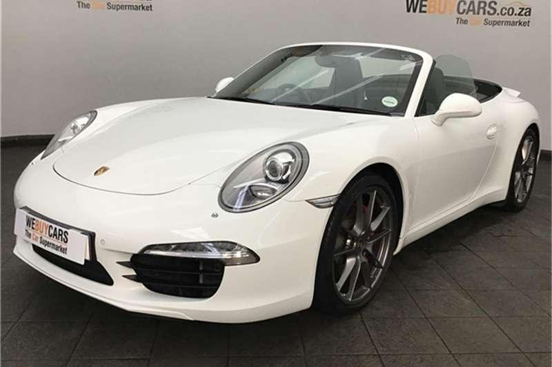 Porsche 911 Carrera cabriolet auto 2013
