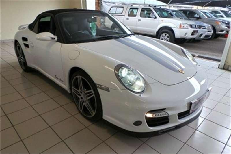 2008 Porsche 911 turbo cabriolet tiptronic