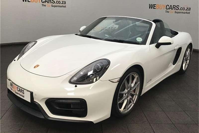 Porsche Boxster GTS auto 2014