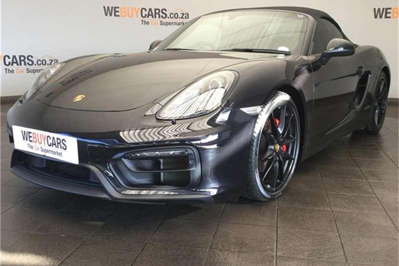 Porsche Boxster GTS auto 2016