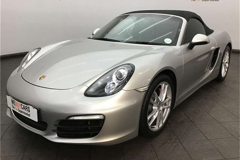 Porsche Boxster S auto 2012