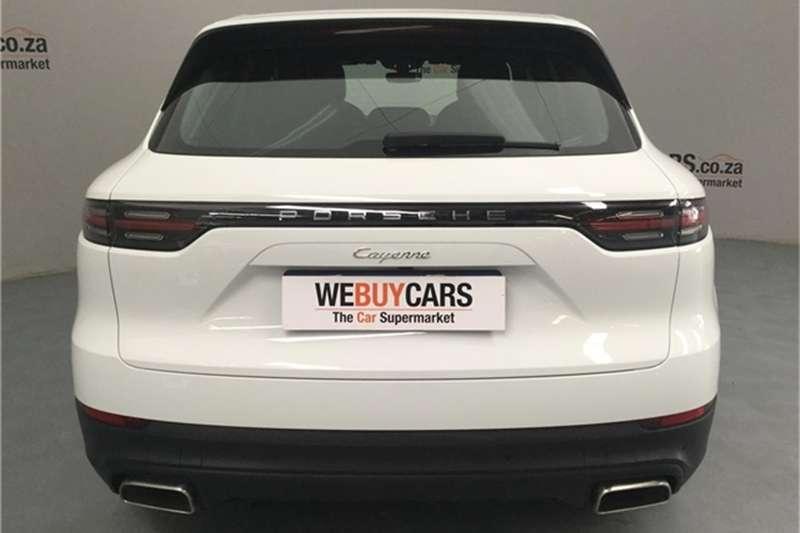 Porsche CAYENNE TIPTRONIC (E3) 2019