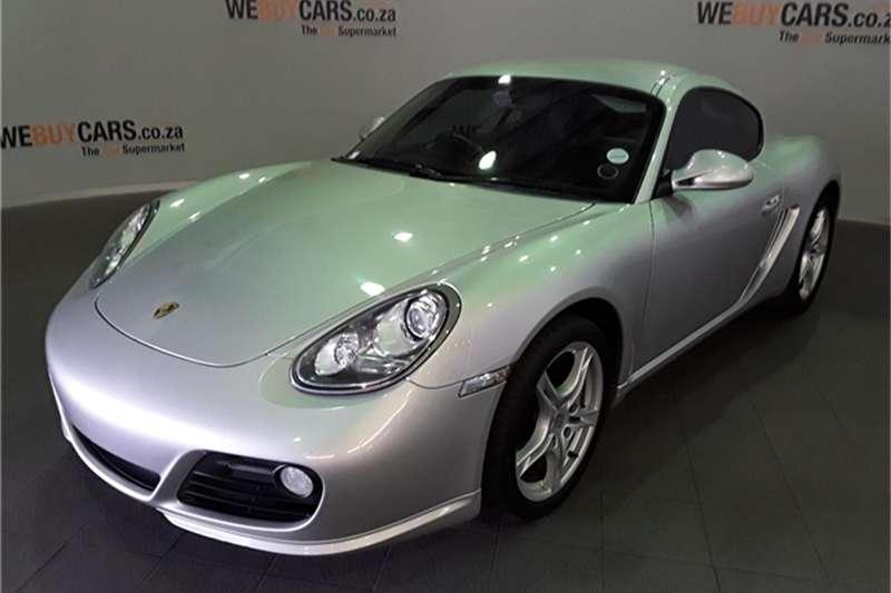 Porsche Cayman auto 2009
