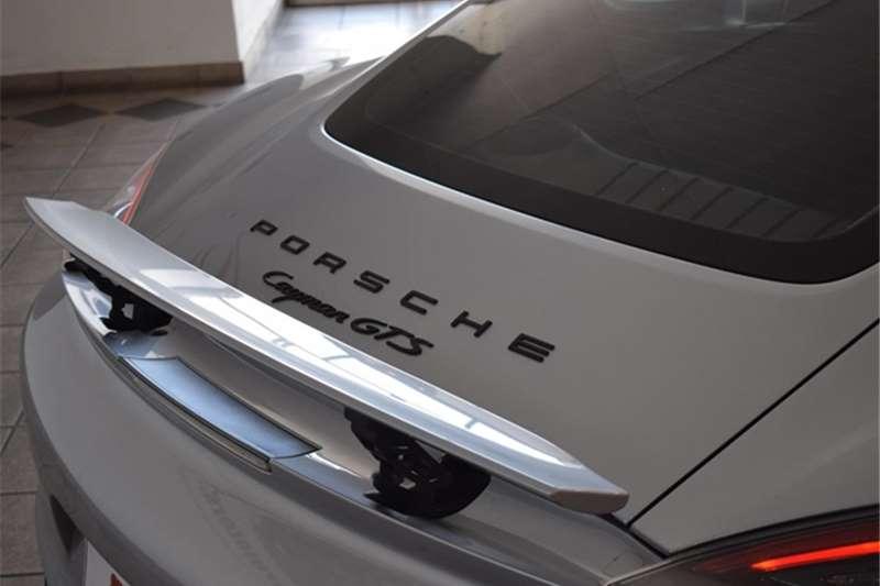 2016 Porsche Cayman Cayman GTS auto