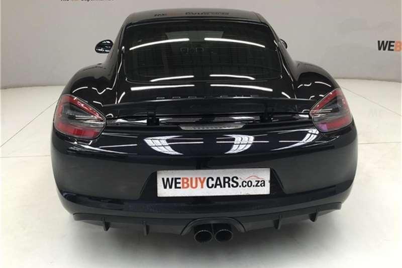 2015 Porsche Cayman GTS auto