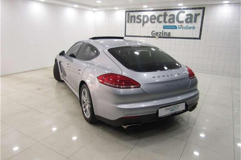 Porsche Panamera diesel 2013