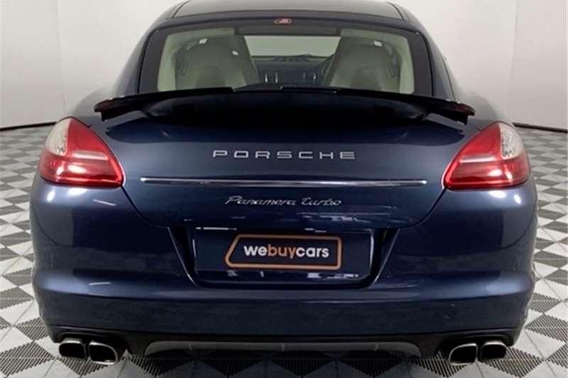 2010 Porsche Panamera Panamera turbo