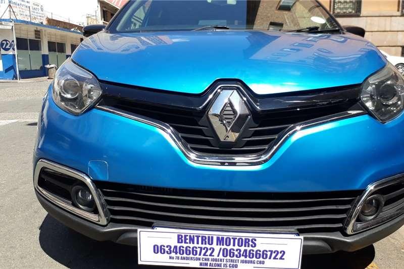 2017 Renault Captur 66kW turbo Blaze