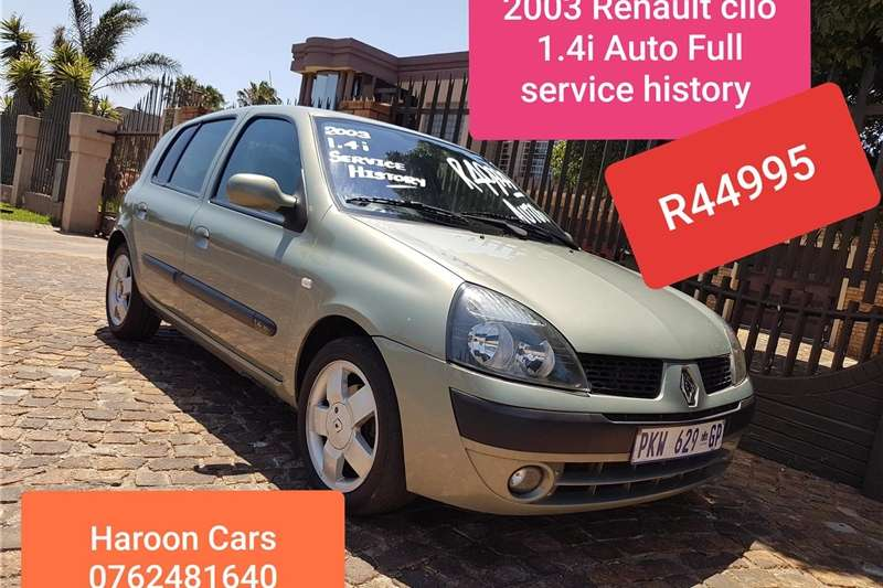 Renault Clio 1.4 Extreme limited edition 5 door 2003