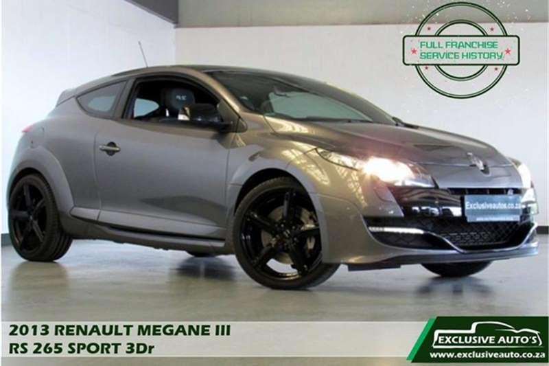 Renault Megane Coupe Megane RS Sport 265 2013