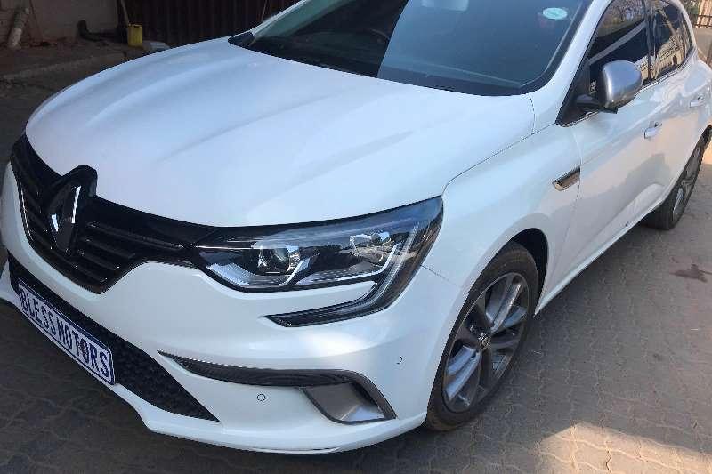 Renault Megane hatch 97kW turbo GT Line auto 2017