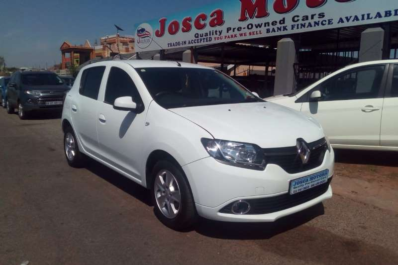 Renault Sandero 66kW turbo Expression 2016