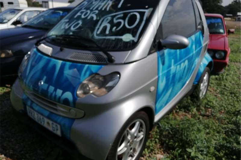 Smart Fortwo Cabrio Automatic n step tronic 2006