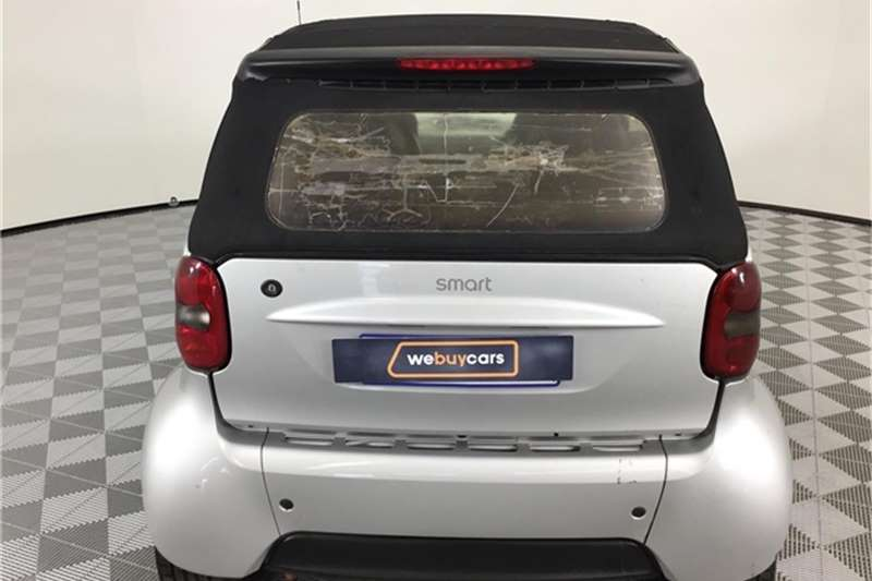 Smart Fortwo cabrio passion softouch 2004