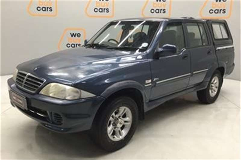 Ssangyong Musso Sports 290 automatic 2007