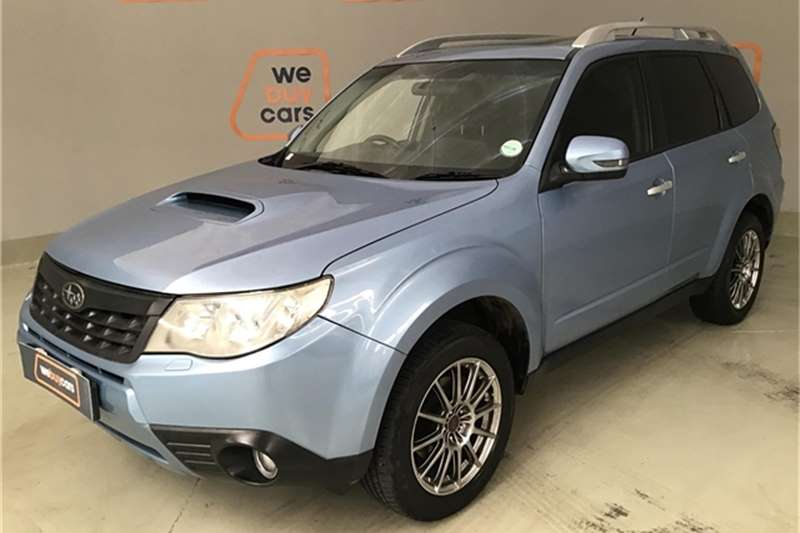 Subaru Forester 2.5 S-Edition Premium 2012