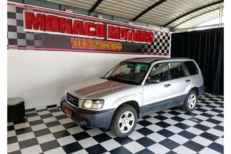 Subaru Forester 2.5 X 2004