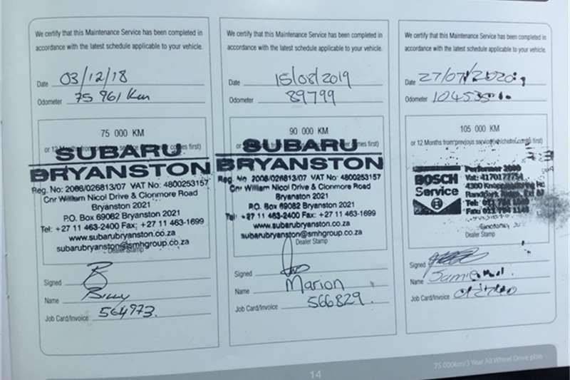 Subaru Forester 2.5 X 2014