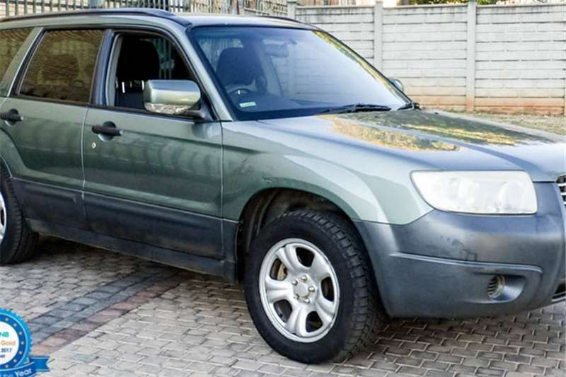 Subaru Forester 2.5 X A/T 2008