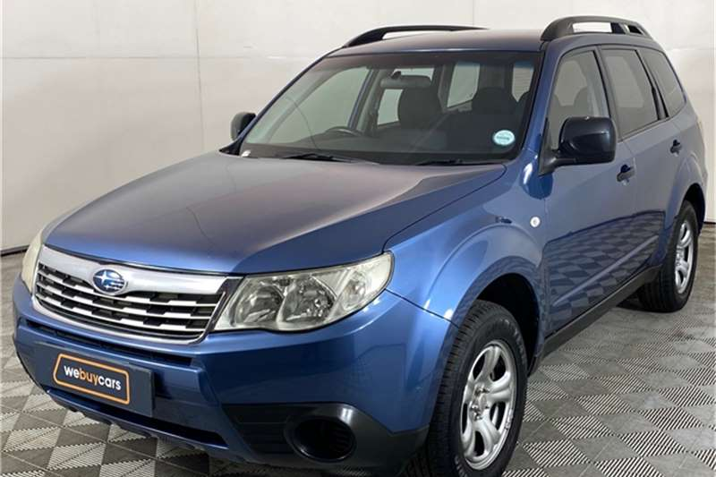 Used 2010 Subaru Forester 2.5 X Sportshift