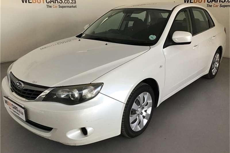 Subaru Impreza 2.0 R sedan 2009