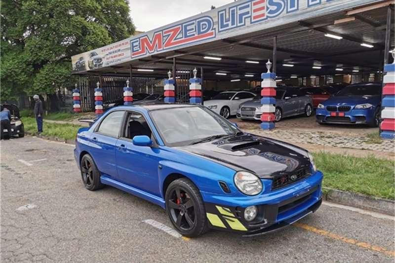 Subaru Impreza 2.0T WRX AWD 2002