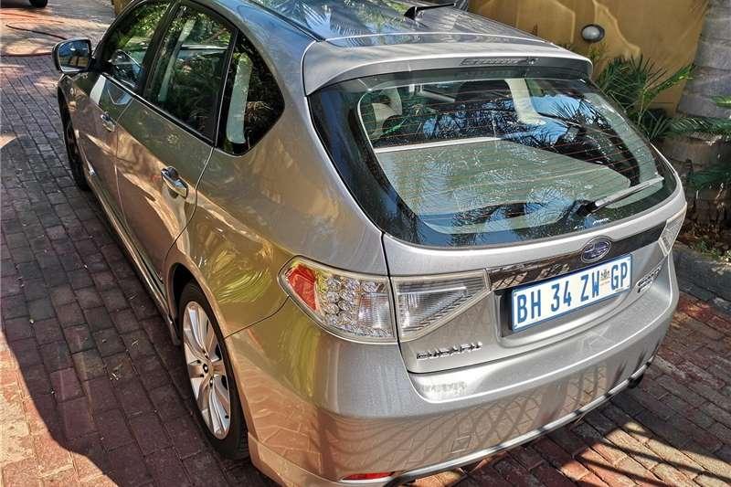 Subaru Impreza 2.5 WRX hatch 2008